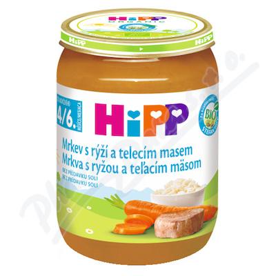 HIPP BABY MENU karotka s rýží a tel.mas.190gCZ6143
