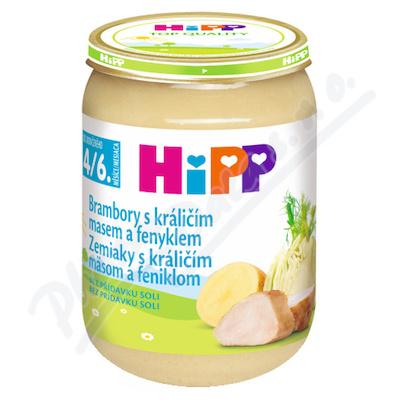 HIPP BABY MENU bramb.s král.masem+fenyk.190gCZ6173