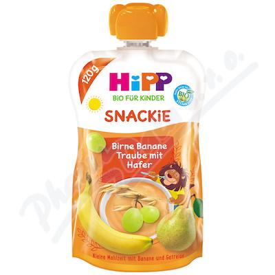 HiPP BIO Sport Hruška-Banán-Bíle hrozno-Oves 120g
