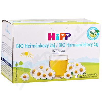 HiPP ČAJ SÁČK.BIO Heřmánkový čaj 20x1.5g