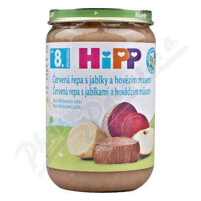 HiPP JUNIOR BIO Červ.řepa s jablky a hov.m. 220g