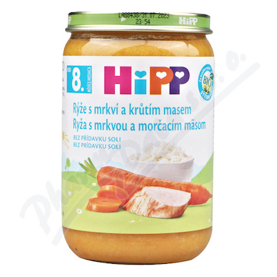 HIPP rýže s karot.a kr.mas.220gCZ6530