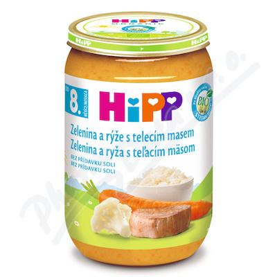 HIPP JUNIOR MENU zel.s rýží a tel.masem220g CZ6413