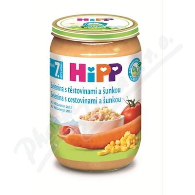 HIPP JUNIOR MENU zel.s těstov.a šunkou 220gCZ6540