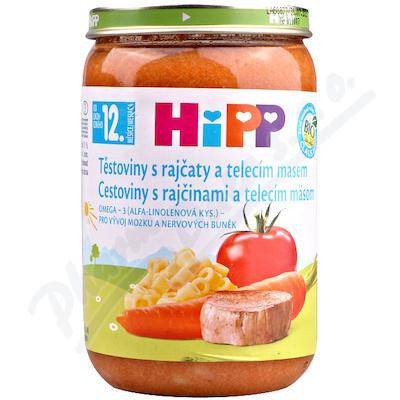 HIPP DĚTSKÉ MENUrajčata s těst.+tel.mas.220gCZ6830