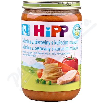 HIPP DĚTSKÉ MENU zel.s těstov.a kuřetem 220gCZ6833
