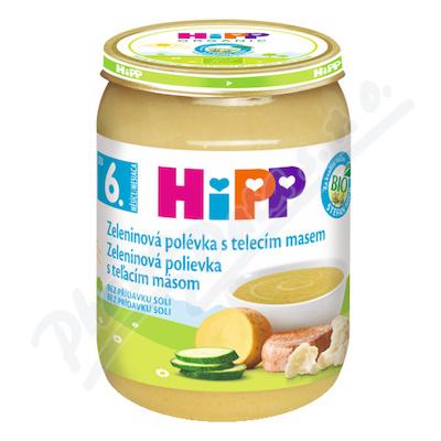 HIPP BABY MENU BIO Pol.zelen.s telecím 190g CZ7983