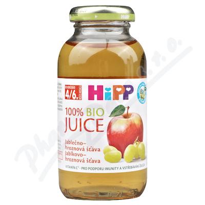 HIPP ŠŤÁVA jablečno-hroznová šťáva 200ml CZ8030