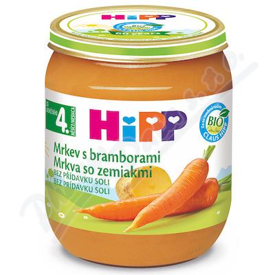 HIPP ZELENINA karotka s brambory 125g CZ4000