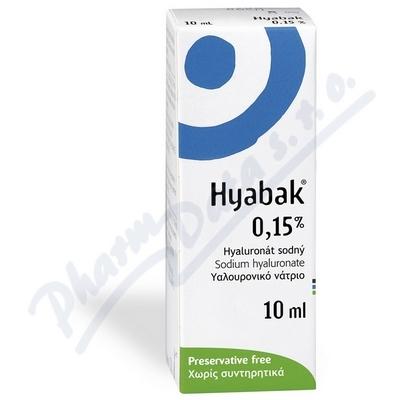Hyabak Protector 0.15% gtt. 10ml