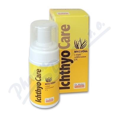 Ichtyo Care mycí pěna 3% Ichtyol Pale 100ml (Dr.M)