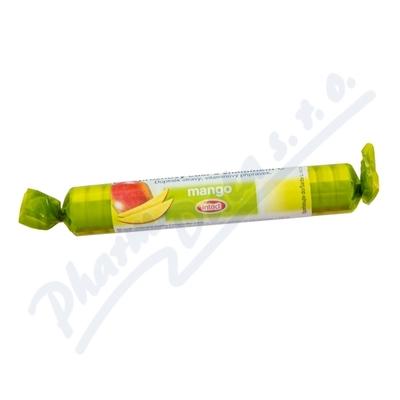Intact hroznový cukr s vit.C mango 40g(rolička)