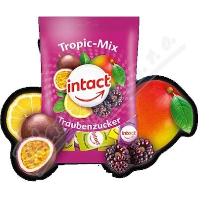 Intact sáček hroznový cukr TROPIC MIX pastil. 100g
