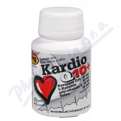 JML Kardio Q10+ 30mg cps.34 (L-Karnitin+vit.E+Se)