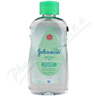 Johnson baby olej aloe vera 200ml