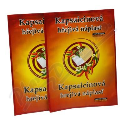 Kapsaicinová hřejivá náplast 7x10cm 1ks
