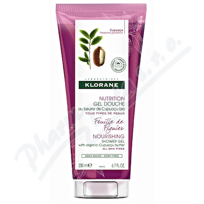 KLORANE Body Care Sprchový gel Figuier 200ml