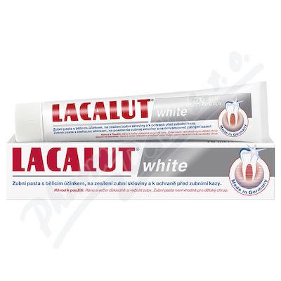 Lacalut white zubní pasta 75ml bělící bez peroxidu
