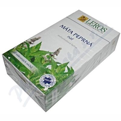 Mátový čaj Spofa her.20x1.5g nálev.sáčky LEROS