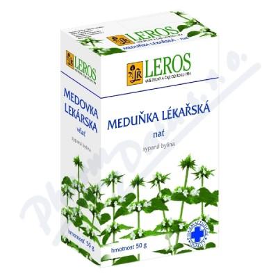 LEROS Meduňka lékařská -nať 50g sypaná