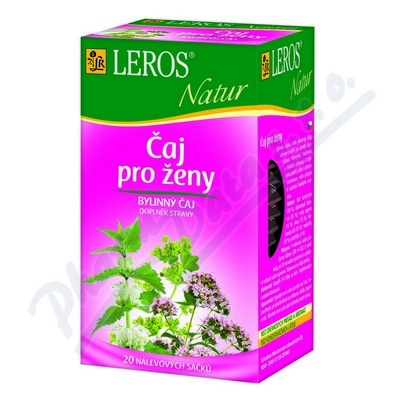 LEROS Natur čaj pro ženy 20x1.5g n.s.