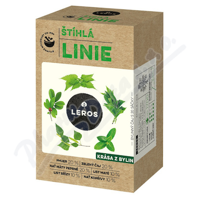 LEROS NATUR Štíhlá linie Slim Line TEA 20x1.5g n.s