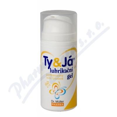 Lubrikač.gel Ty&Já parf.vůní broskve 100ml Dr.Mll