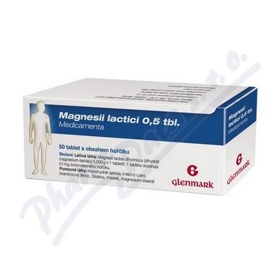 MAGNESII LACTICI 0,5 TBL. MEDICAMENTA