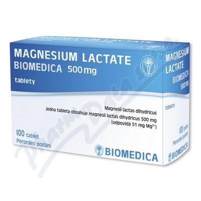 MAGNESIUM LACTATE BIOMEDICA