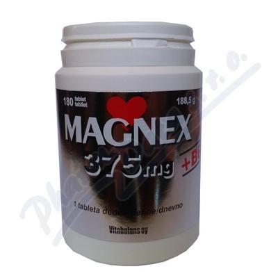 Magnex 375mg + B6 tbl.180