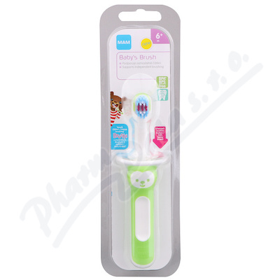 MAM Kartáček zubní First Brush 6+m. 1ks