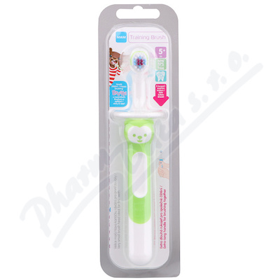 MAM Kartáček zubní Training brush 6+m. 1ks