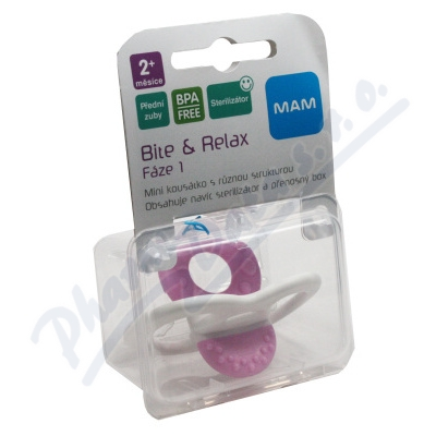 MAM Kousátko Bite & Relax Fáze 1 od 2měsíců