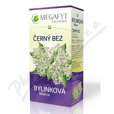 Megafyt Bylinková lékárna Černý bez 20x1.5g