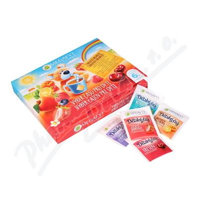 Megafyt Výběr čajů pro děti 6 druhů čajů 30ks