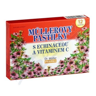 Mllerovy pastilky s echinaceou 12ks
