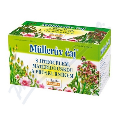 Mllerův čaj průduškový n.s.20x1.5g