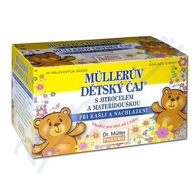 Mllerův dětský čaj s jitrocel.a mateř.n.s.20x1.5g