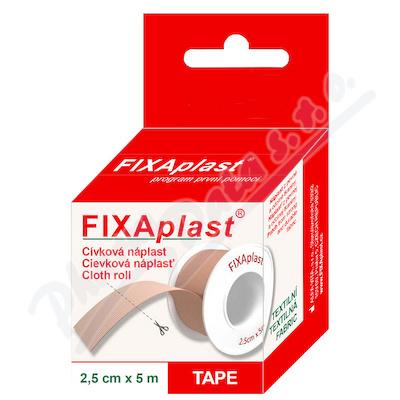 Náplast Fixaplast cívka 2.5cmx5m