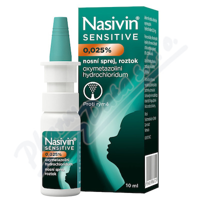 NASIVIN SENSITIVE 0,025 %