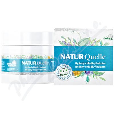 NATURQuelle bylinný chladivý balzám 200ml