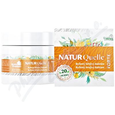 NATURQuelle FORTE bylinný hřejivý balzám 200ml