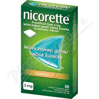 NICORETTE FRESHFRUIT GUM