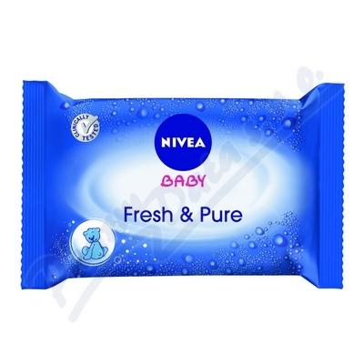NIVEA Baby čist.ubrousky Pure 63ks č.86247