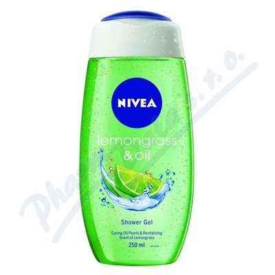 NIVEA Shower sprch.gel Lemon&Oil 250ml č.81067