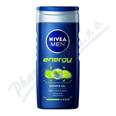 NIVEA Shower sprch.gel pro muže Energy250ml č80803