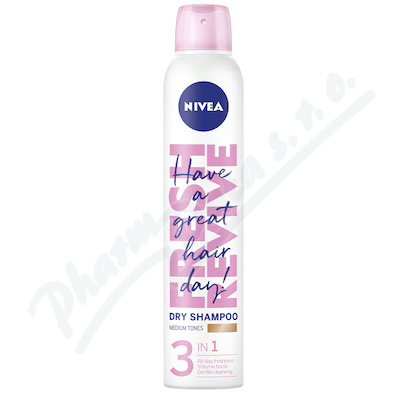 NIVEA suchý šampon pro sv.vlasy 200ml 88612