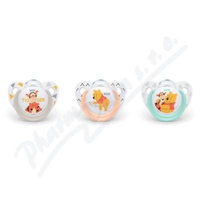 NUK Dudlík Disney Medv.Pú SI V1(0-6m) 1ks 730136