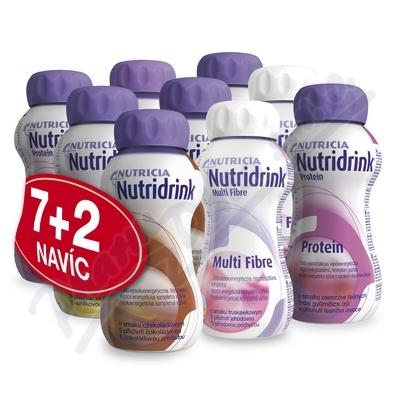 Nutridrink akční balíček 9ks sleva -25%