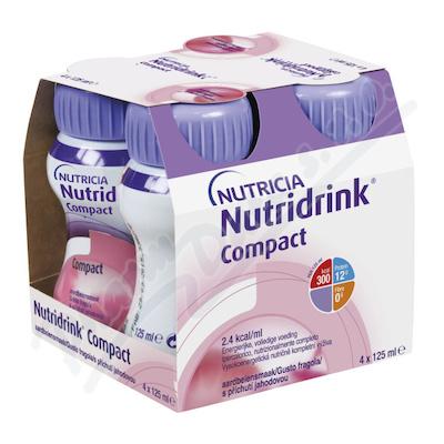 NUTRIDRINK COMPACT S PŘÍCHUTÍ JAHODOVOU